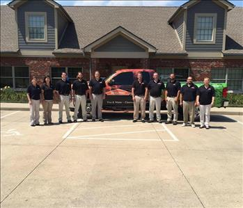 SERVPRO of Fairborn/Huber Heights Crew